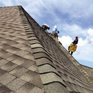 Greenville Roof install